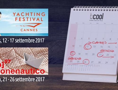 Bcool: appuntamento con le fiere nautiche di settembre