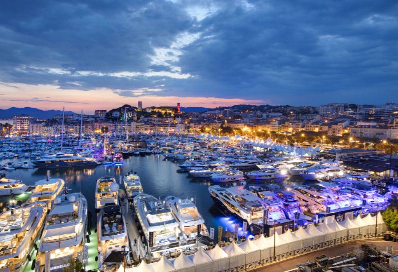 Yachting festival cannes e salone nautico di genova for Salone cannes 2017