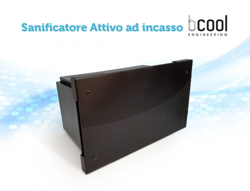 Sanificatore attivo ad incasso Bcool Engineering
