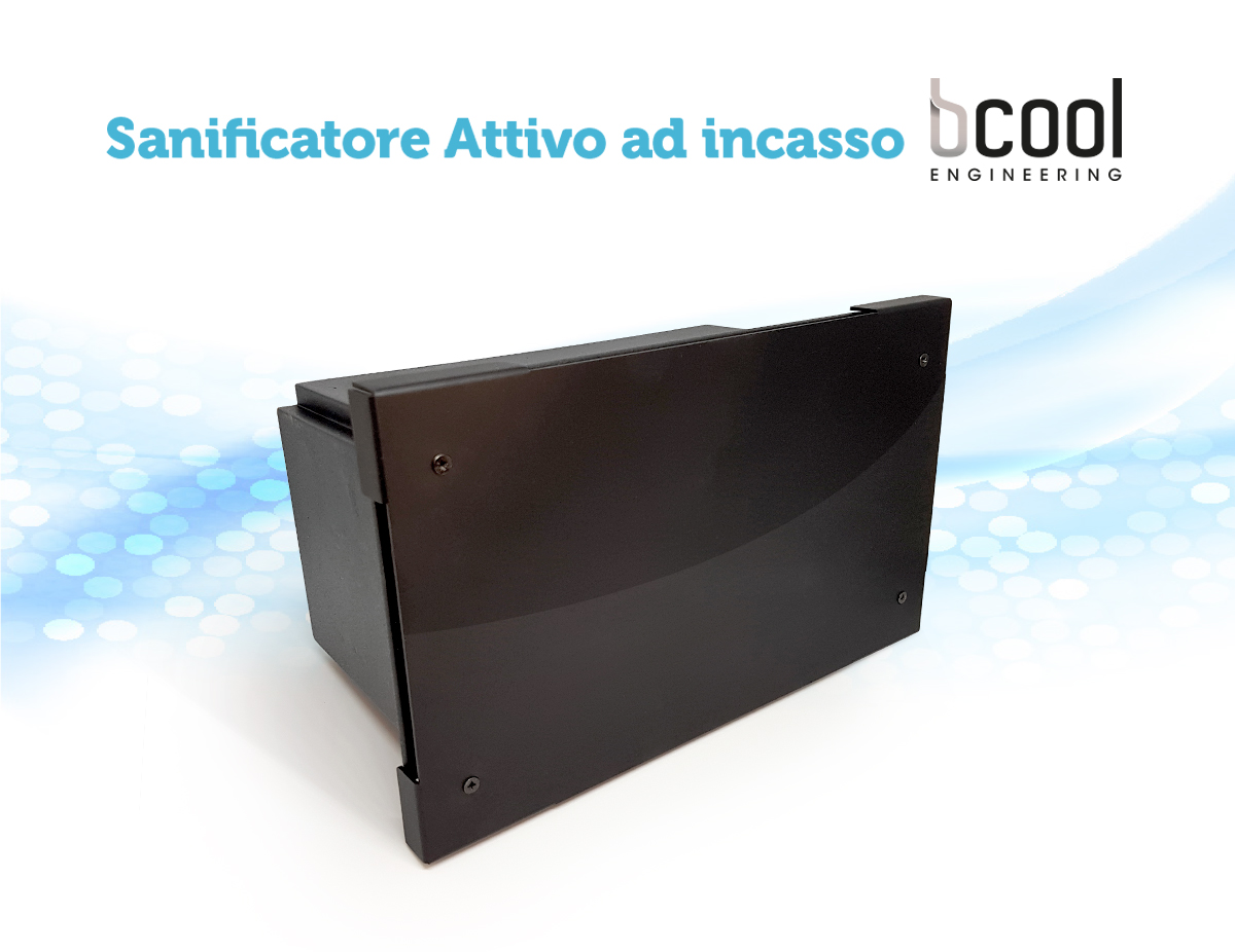 Sanificatore attivo d'aria Bcool Engineering