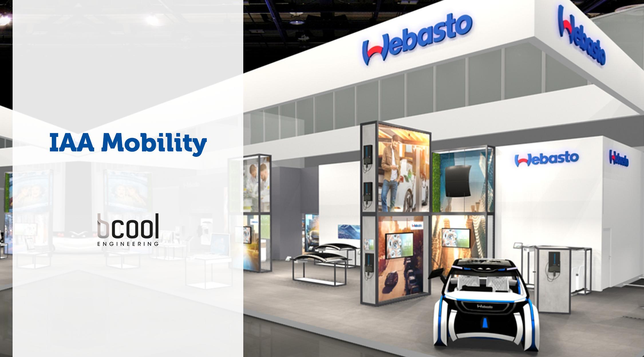 IAA Mobility - Webasto - Bcool Engineering