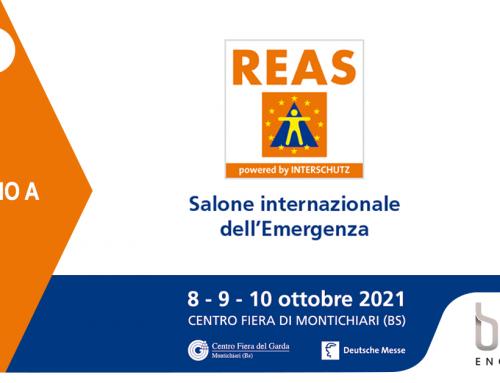 Bcool al Salone Internazionale dell'Emergenza REAS 2021